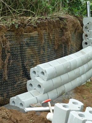F.R.E - Maintien des terres, mur à sec